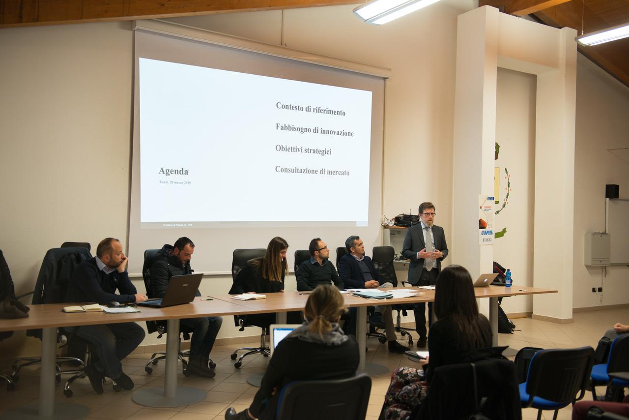 Appalti innovativi. Evento di consultazione di mercato a Fonni (NU)